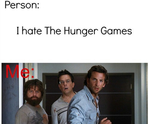 the hunger games, hangover, and breadley cooper image