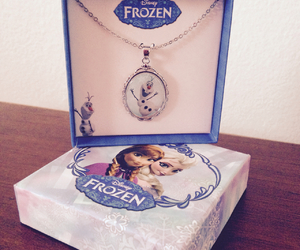 anna, necklace, and elsa image