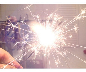 firework, light, and sparkle image