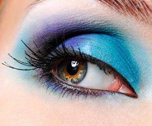 blue, eye, and make up image