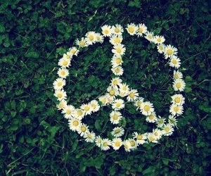 hippie, peace and love, and love image