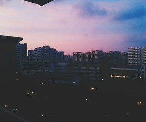 cotton candy, skies, and pink image