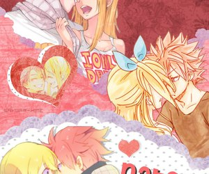anime, fairytail, and Lucy image