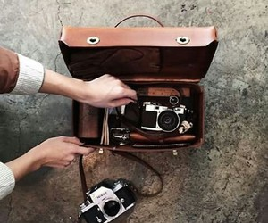 photo, camera, and vintage image