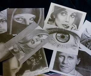 Angelina Jolie, drawing, and illustration image