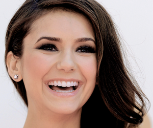Nina Dobrev, tvd, and smile image