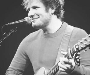 ed sheeran, boy, and guitar image