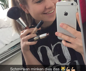 snapchat, cute, and germanyoutuber image