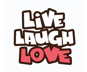 laugh, quotes, and love image
