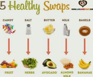 healthy, food, and fitness image