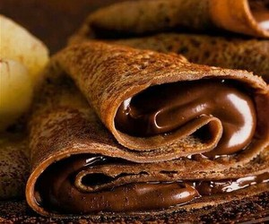 Hot, nutella, and food image