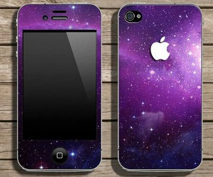iphone, galaxy, and apple image