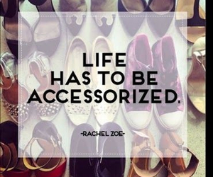 accessories, quotes, and fashion image