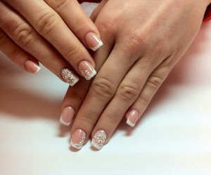 nail art and french manicure image