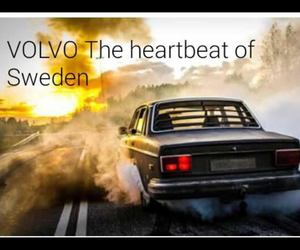 cars, sweden, and volvo image