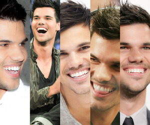 Taylor Lautner, book, and twilight image