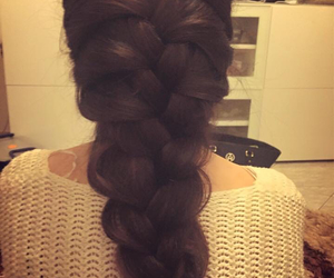 braids, tommy hilfiger, and hair color image