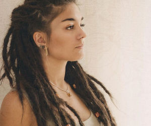 girl, dreads, and rasta image
