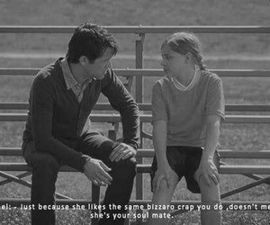 quote, 500 Days of Summer, and love image