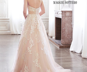 dress, married, and wendding image