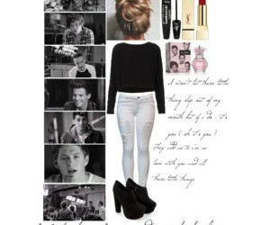 music video, outfit, and Polyvore image