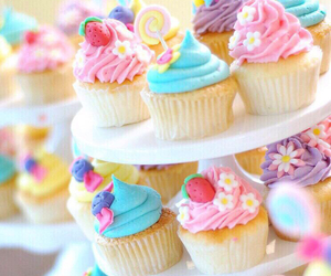 cupcake, sweet, and dessert image