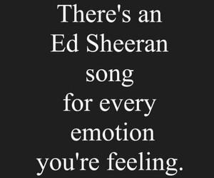 ed sheeran, song, and emotions image