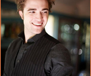 edward cullen, robert pattinson, and smile image