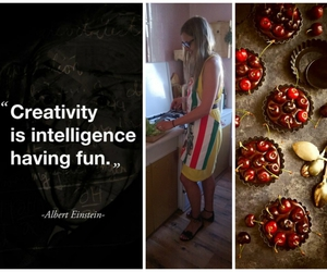 cooking, creativity, and healthy living image