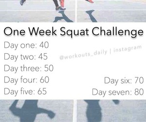 challenge, exercise, and out image