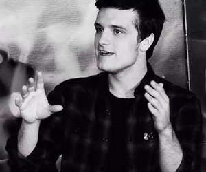 josh hutcherson, hunger games, and handsome image