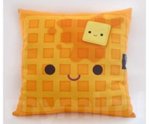 pillow, waffles, and cute image