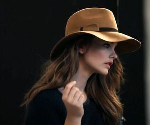 barbara palvin, model, and hat image