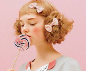 girl, candy, and fashion image