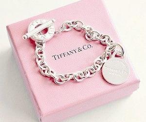 pink, bracelet, and tiffany image