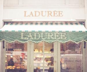 laduree, pink, and vintage image
