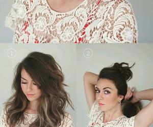 diy, Girls Fashion, and hair style image