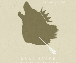 game of thrones, robb stark, and a song of ice and fire image
