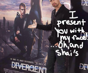 theo james and funny image