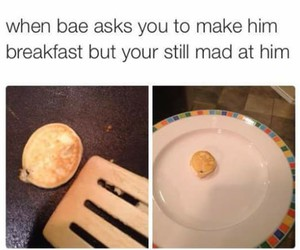 bae, funny, and mad image