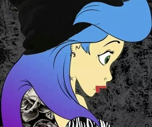 ariel, punk, and disney image