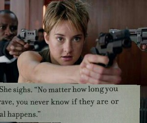 Shailene Woodley, insurgent, and veronica roth image