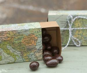 favors, map, and wedding image