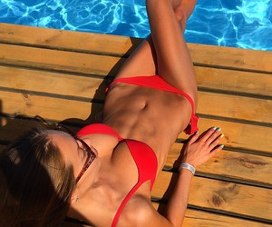 fashion, summer, and fitness image
