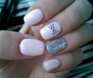 barbie, nails, and pink image