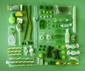 green, candy, and sweet image