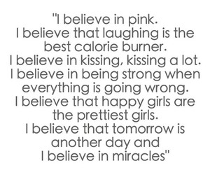 believe, pictureoftheday, and lovelywords image