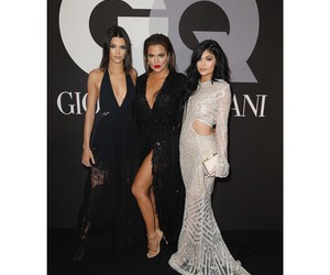 khloe kardashian, kendall jenner, and kylie jenner image