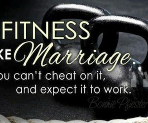 fitness, motivation, and marriage image