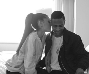 ariana grande, big sean, and couple image